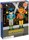 Petit Collage Petit Collage Superheroes Magnetic Dress Up