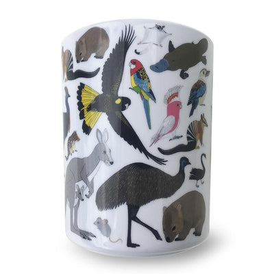 Red Parka Red Parka Melamine Set Australian Animals