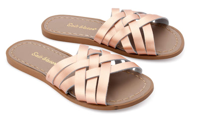 Saltwater Women's Slides Retro Rose Gold