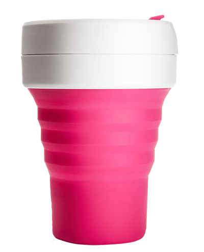 Stojo Stojo Pocket Reusable Collapsible Cup Pink 355mL