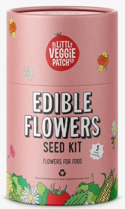 The Little Veggie Patch Co Edible Flowers Kit by The Little Veggie Patch Co