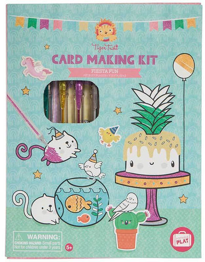 Tiger Tribe Tiger Tribe Card Making Kit Fiesta Fun