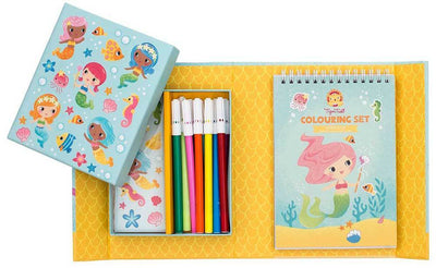 Tiger Tribe Tiger Tribe Colouring Set Mermaids