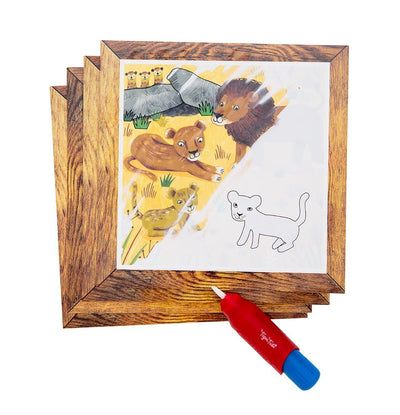 Tiger Tribe Online Stockist | Magic Painting World Safari | Summer Lane