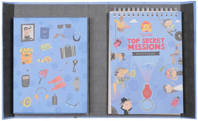 Tiger Tribe Kids Tiger Tribe Top Secret Mission Detective Set