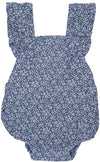Toshi Toshi Baby Romper Bluebell