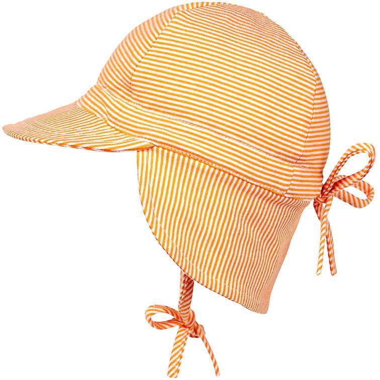 2b4d960fc Toshi Flap Cap Baby Ginger - Baby Hats - Summer Lane
