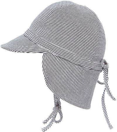 Toshi Baby Flap Cap Periwinkle