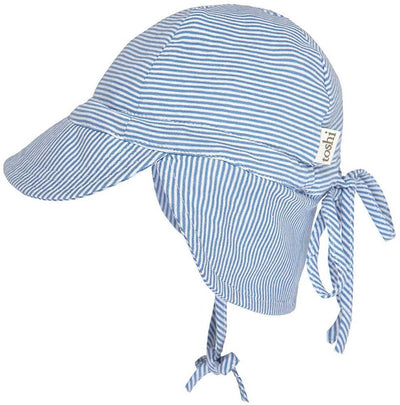 Toshi Baby Toshi Baby Flap Cap Sky
