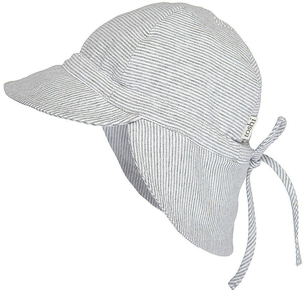 Toshi Flap Cap Baby Dove - Baby Hats - Summer Lane 40df833e6e3