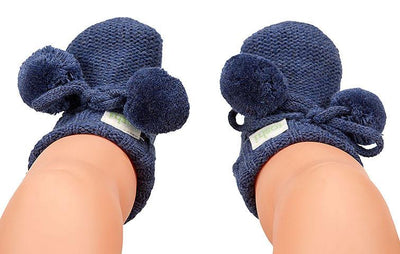 Toshi Baby Organic Booties Marley Midnight | Buy Toshi Online at Summer Lane