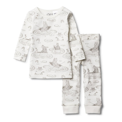 Wilson and Frenchy Wilson & Frenchy Little Row Boat Pyjama Set