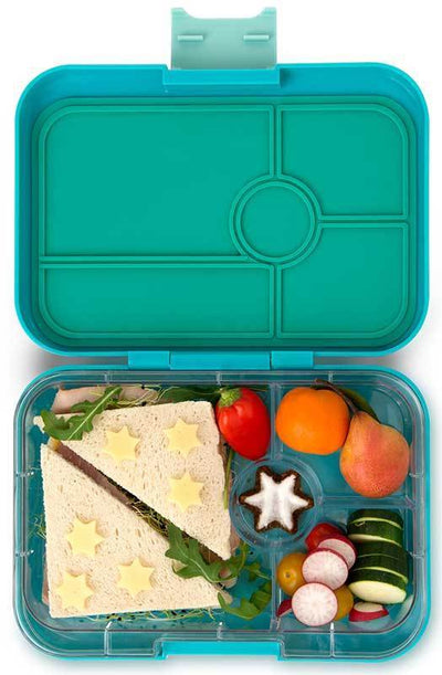 Yumbox Tapas | Leakproof Lunchbox for Kids & Adults | Summer Lane | Antibes Blue