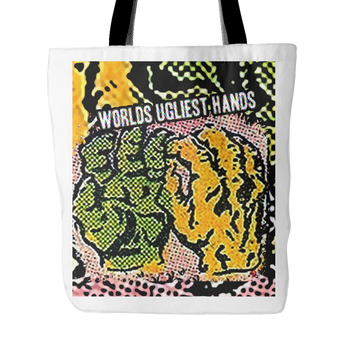 Calpernia Hand Drawn Art Tote Bags