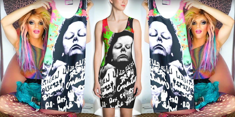 Calpernia Custom for Willam Belli Art Tees T-Shirts Designs Aileen Wuornos Wournos Dress