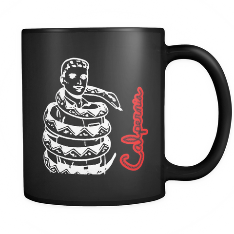 Calpernia Black Graphic Mug - Many Designs to Choose From! - Calpernia Addams Music Art Tees T-Shirts Shirt Dress Dresses Totes Mugs Tote Mug Lyrics Lyric Hand Written Hand Drawn Hand Written Concert Musician Snake Man Man's Mans Men's Mens Woman Women's Women's Woman's Woman's Girl Girls Girl's Boa Constrictor Anaconda Squeeze Funny Comic Vintage Original Unique