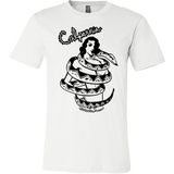 Calpernia Graphic T Shirt - SNAKE GIRL Wearable Art T-Shirt - Calpernia Addams Music Art Tees T-Shirts Shirt Dress Dresses Totes Mugs Tote Mug Lyrics Lyric Hand Written Hand Drawn Hand Written Concert Musician Snake Man Man's Mans Men's Mens Woman Women's Women's Woman's Woman's Girl Girls Girl's Boa Constrictor Anaconda Squeeze Funny Comic Vintage Original Unique