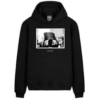 Black Woke and Ready Hoodie
