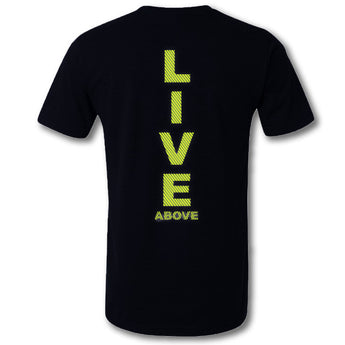 Live Above Sprinter tee - Black