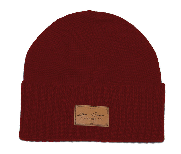 The Live Above Londoner beanie, just right for the winter weather