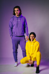Live Above hoodie Sweatsuit - Lavender