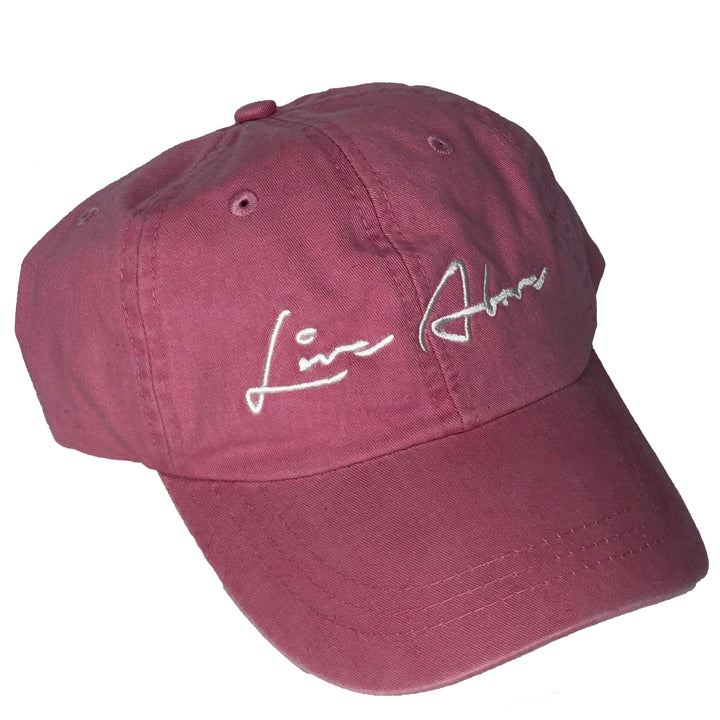 Signature Live Above Step Dad Cap- Raspberry