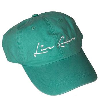 Live Above Step Dad Cap- Summer Teal