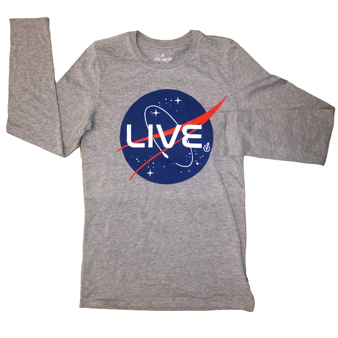 Live No Limits- Heather Grey