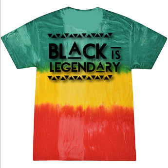 Black is Legendary tee - History