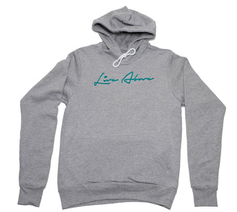 Grey Live Above Signature Hoodie