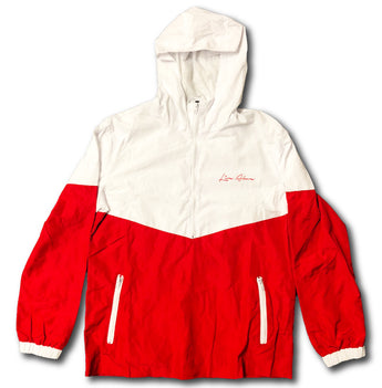 Live Above windbreaker- Red