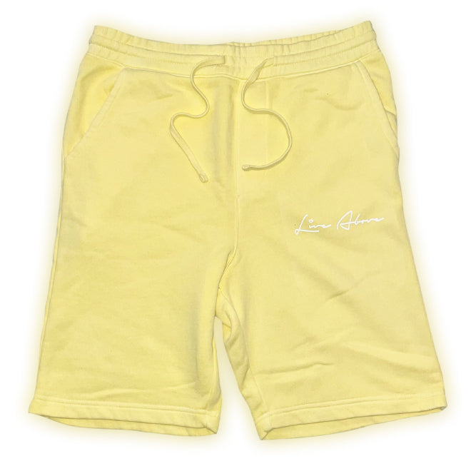 Signature Live Above Sweat Shorts- Butter
