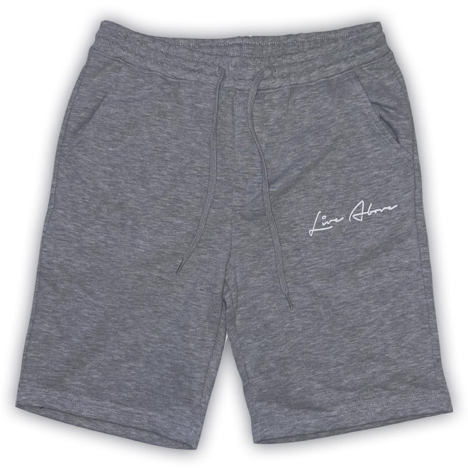 Signature Live Above Sweat Shorts- Heather Grey