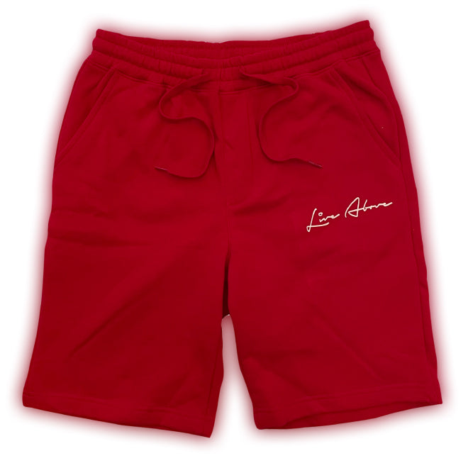 Signature Live Above Sweat Shorts- Red