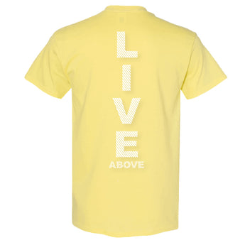 Live Above Sprinter tee - Canary