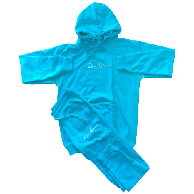 Live Above hoodie Sweatsuit - Teal