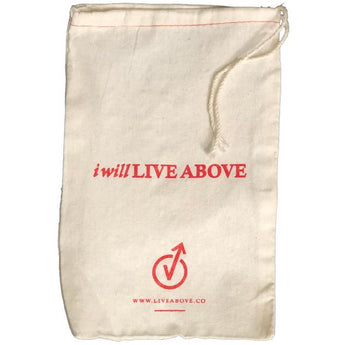 I Will Live Above Bag