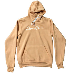Peach Live Above Signature Hoodie