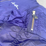Signature Live Above Bomber Jacket- Purple