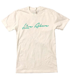 Teal Signature Live Above Tee