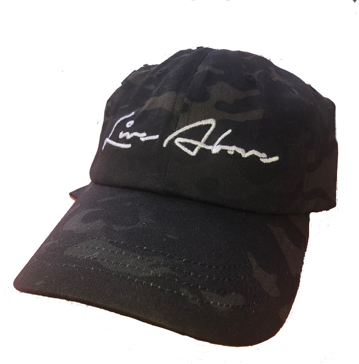 Live Above Step Dad Cap- Camo