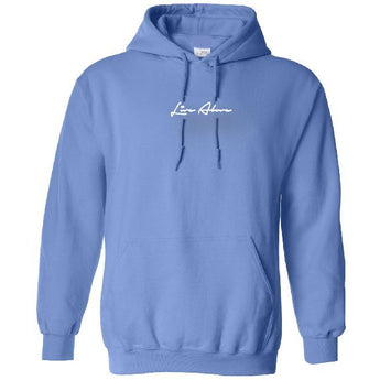 Small Signature Hoodie- Powder Blue