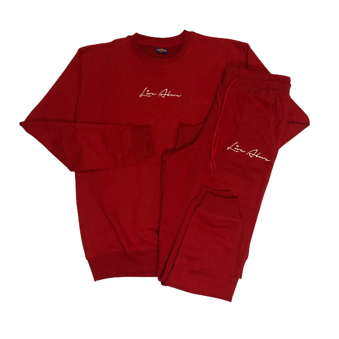 Signature Live Above Sweatsuit- Red