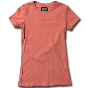 Women's Signature Live Above tee- Rose