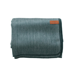 Alpaca Blanket - Plush - Slate Grey