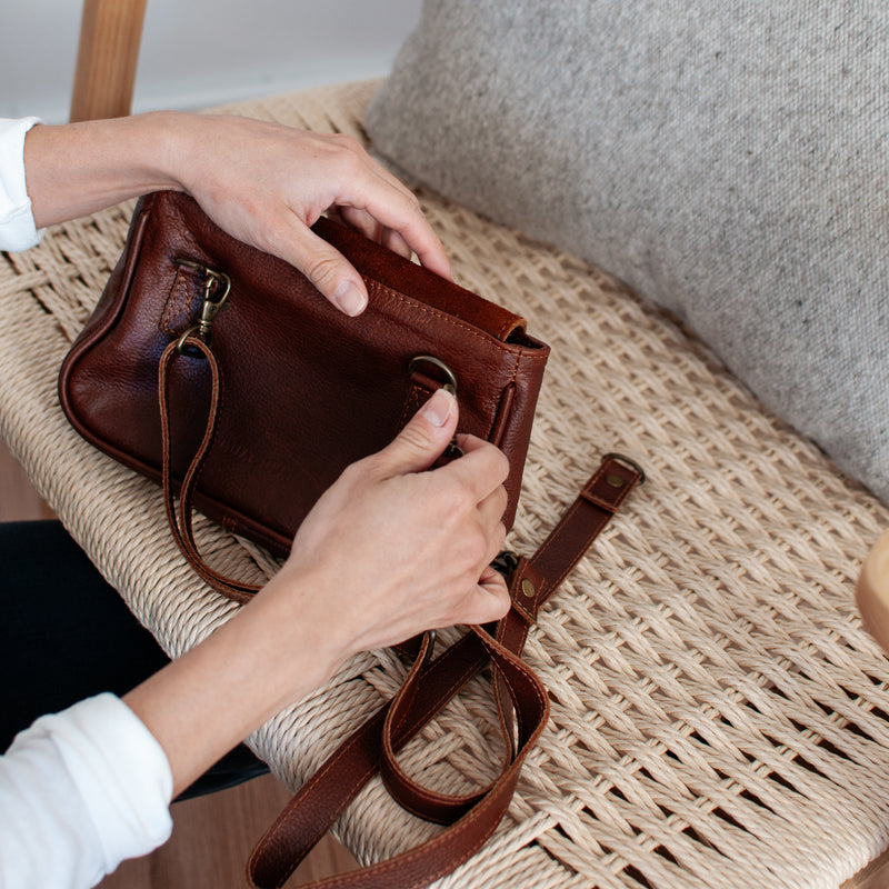 Convertible Mini Bag - Terra Cotta - EQUAL UPRISE