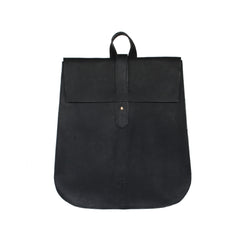 Leather Backpack - Black - EQUAL UPRISE