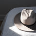 Traditional Fedora - Light Grey - EQUAL UPRISE