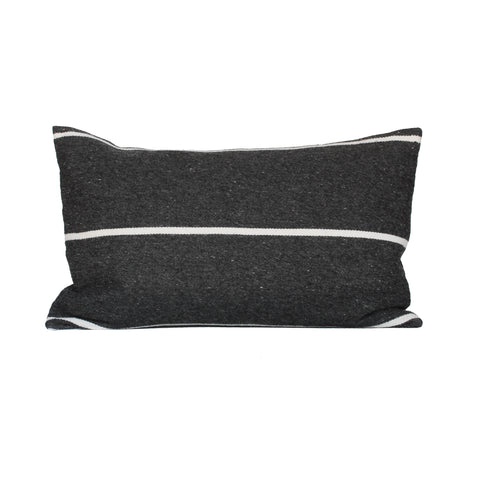 Horizon Pillow Cover - Charcoal