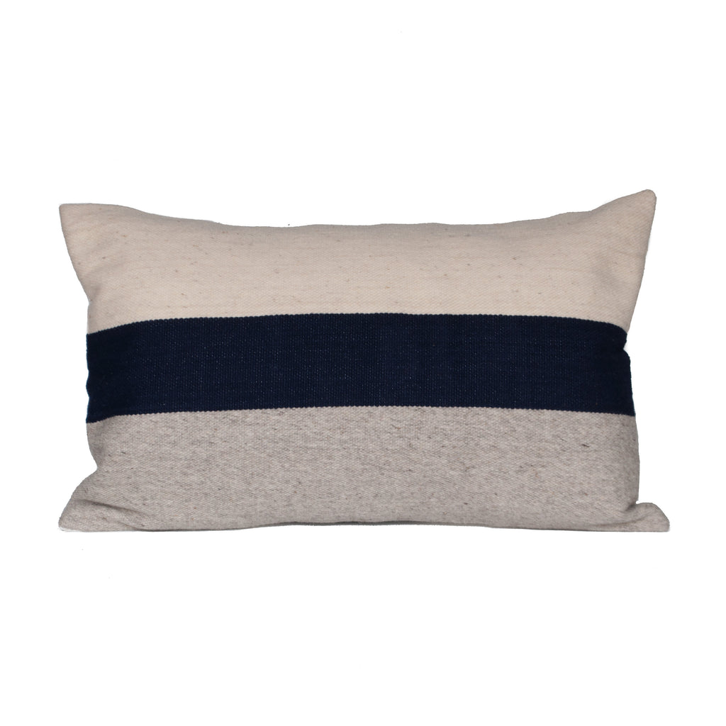 Horizon Pillow Cover - Navy Block